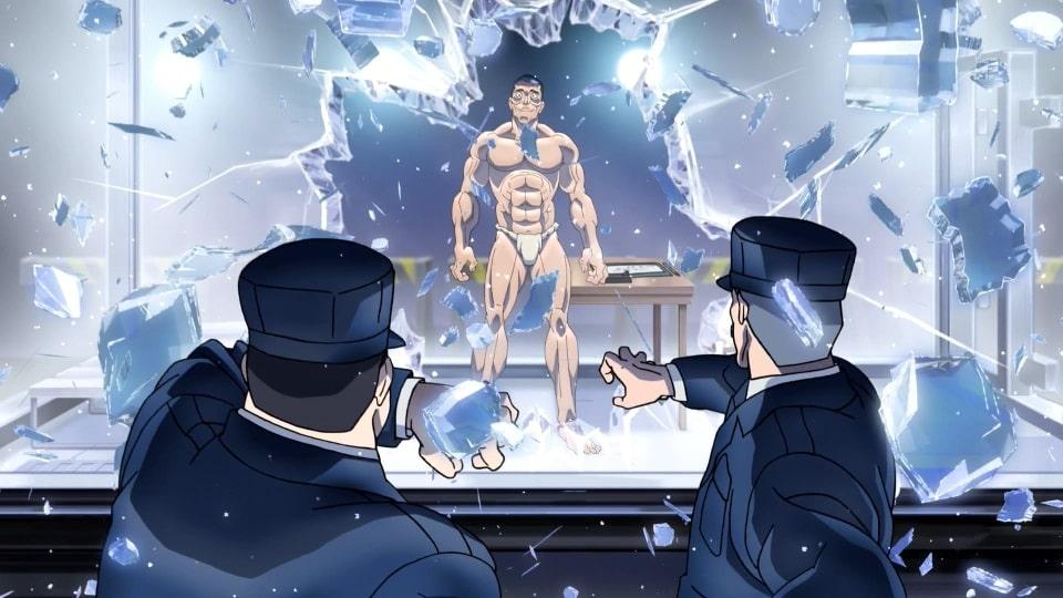 амли, аниме онлайн, 2001, боец баки